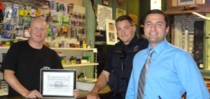 Sonora Police Department SPOA Award